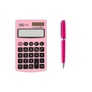 Calculadora com Caneta para Mulher