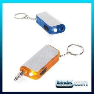 Chaveiro LED com Ferramenta