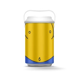 Cooler para 10 latas