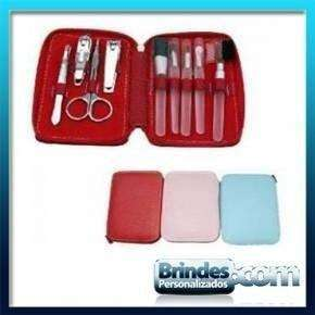 Kit Manicure com Pinceis