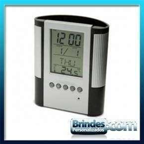 Porta Canetas com Termometro