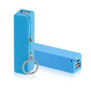 Power Bank Azul Personalizado