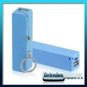 Power Bank Azul Personalizado