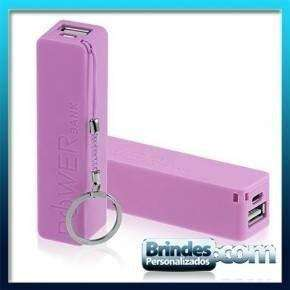 Power Bank Rosa Personalizado