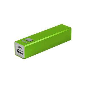 Power Bank Verde Personalizado