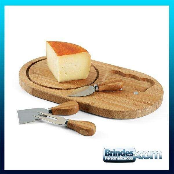 Tabua de queijos redonda