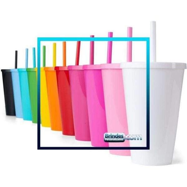 Copo Plastico Personalizado 600ml